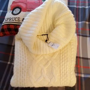 Ivory Express sweater
